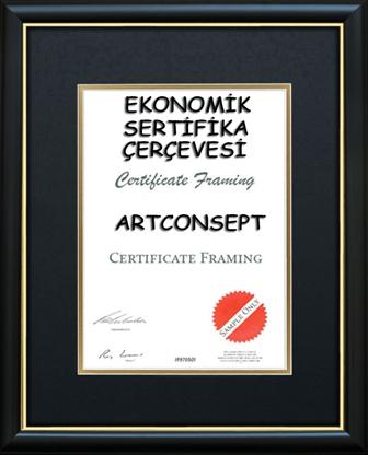 a4 sertifika cercevesi